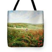 A Corner Of The Field In Bloom Tote Bag