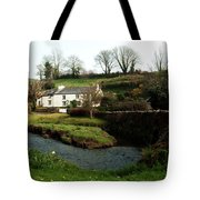 A Cornish Cottage By The Stream Tote Bag
