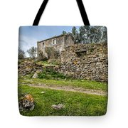 A Cottage In Ruins Tote Bag