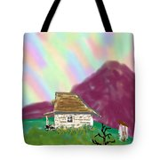 A Cottage In The Alps Tote Bag