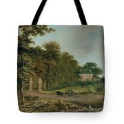 A Country House Tote Bag by J Hackaert