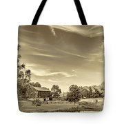 A Country Place 3 - Sepia Tote Bag