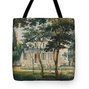 A Country Residence Possibly General Moreau's Country House At Morrisville Pennsylvania Tote Bag