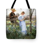 A Country Romance Tote Bag