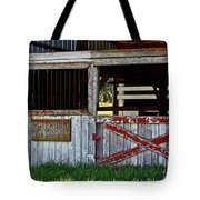 A Country Scene Tote Bag