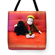 A Couple Of Monkeys Tote Bag