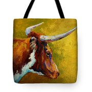 A Couple Of Pointers - Longhorn Steer Tote Bag