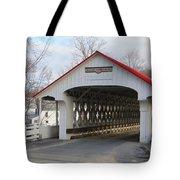 A Covered Bridge Tote Bag
