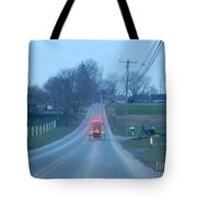 A Cozy Buggy Ride Home Tote Bag