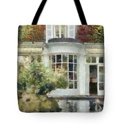 A Cozy House In Brittany Tote Bag