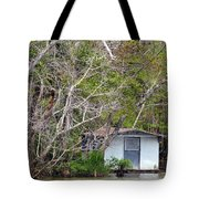 A Cozy Spot On The Apalachicola River Tote Bag