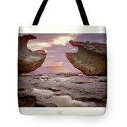 A Crab Stone, By The Cosmic Joker Tote Bag