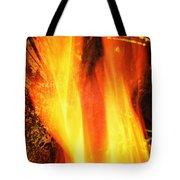 A Cracking Flame Tote Bag