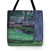 A Creek Runs Through It Tote Bag