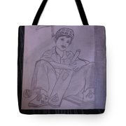 A Cricket Player Tote Bag