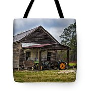 A Crooked Little Barn Tote Bag