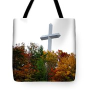 A Cross In Tennessee Tote Bag