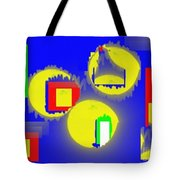 A Crowd Of Three Tote Bag