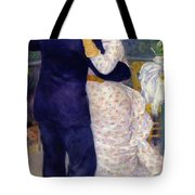 A Dance In The Country Tote Bag by Pierre Auguste Renoir