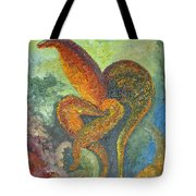 A Dancing Flower Tote Bag