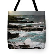 A Dangerous Coastline Tote Bag