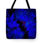 A Dark Blue Crash Tote Bag