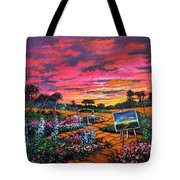A Darkness So Light Tote Bag