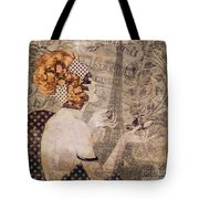 A Date With Paris II Tote Bag