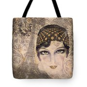 A Date With Paris Tote Bag