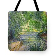 A Day At Giverny Tote Bag