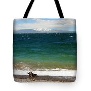 A Day At The Lake Tote Bag