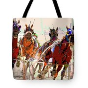 A Day At The Races 2 Tote Bag