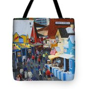 A Day At The Wharf Tote Bag