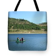 A Day In A Canoe Tote Bag