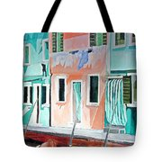 A Day In Burrano Tote Bag
