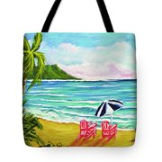 A Day In Paradise #354 Tote Bag