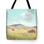 A Day In The Fields Tote Bag
