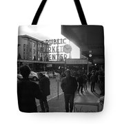 A Day In The Market Tote Bag