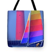A Day Of Sailing Tote Bag