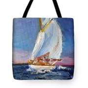A Day On A Boat Is..... Tote Bag