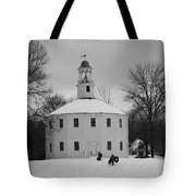 A Day On The Hill Tote Bag