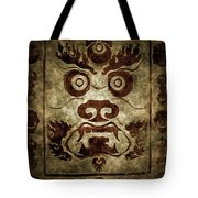A Demonic Face Tote Bag