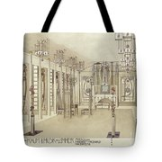 A Design For A Music Room Tote Bag