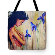 A Different Kind Of Blue Tote Bag