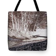 A Different World #1. Groove Of Trees Tote Bag