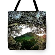 A Distant Cross Tote Bag