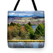 A Distant Jay Peak Tote Bag