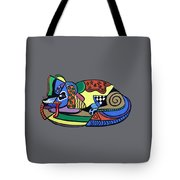 A Dog Named Picasso T-shirt Tote Bag