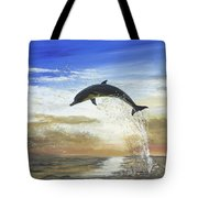 A Dolphin's Life Tote Bag