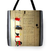 A Door About Family Tote Bag
